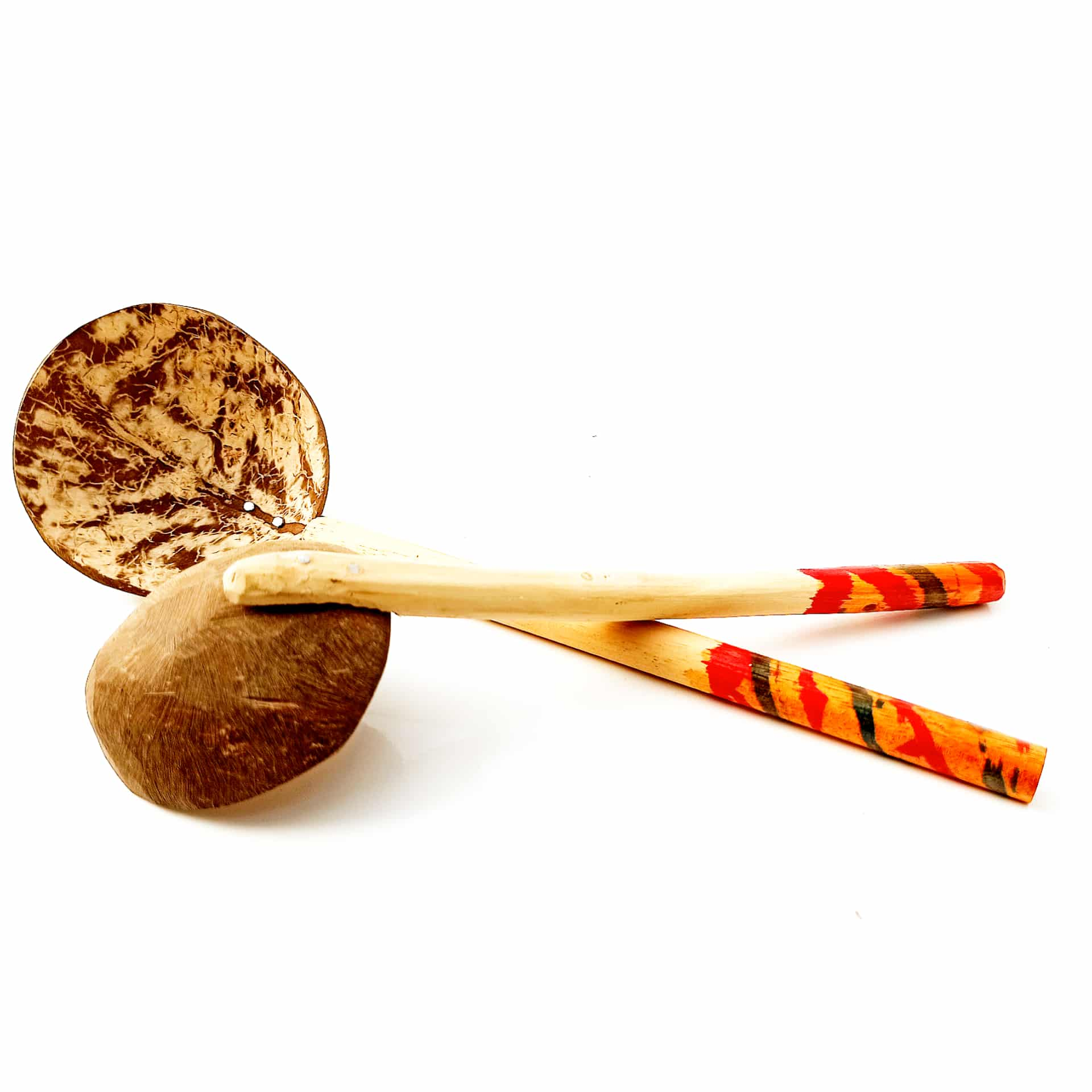 Details about  /100/% natural handmade 5 pieces coconut spoon set with spoon holder sri lanka